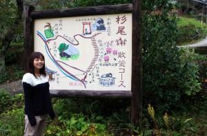 杉尾山マップ