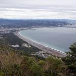 煙樹海岸(西山から展望)