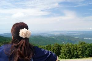眼下に海南市・和歌山市・さらにその向こうまで一望できる