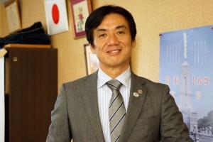 串本町の田嶋勝正町長