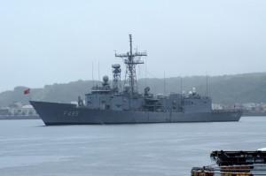 トルコ軍艦ゲディズ
