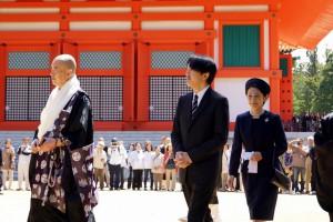 最終日には秋篠宮殿下・妃殿下の姿も
