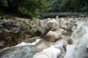 滝ノ拝の中川アナ