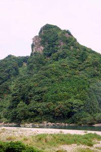少女峰と古座川