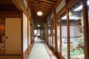 中川邸室内・廊下