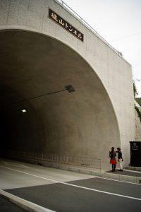 きれいなトンネル