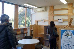 図書室(くじらの博物館)