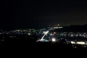 有田市街地の夜景
