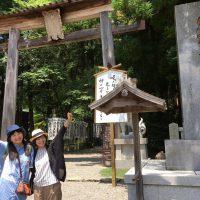 旅の始まりは熊野本宮大社