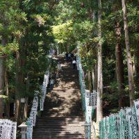 158段の石段