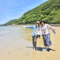 三浦さんと伊舞さん(右)