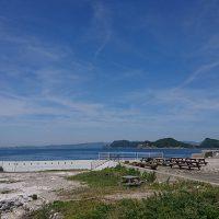 白崎海岸から十九島遠望