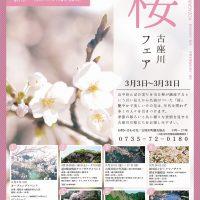 桜フェア © 古座川町観光協会