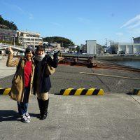 和歌浦漁港からスタート