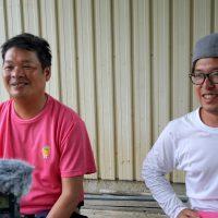 林信次さん(左)と直樹さん