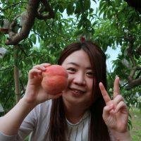 みーちゃんの桃狩り