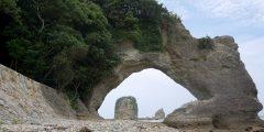 夏の白浜、臨海浦と番所山の旅