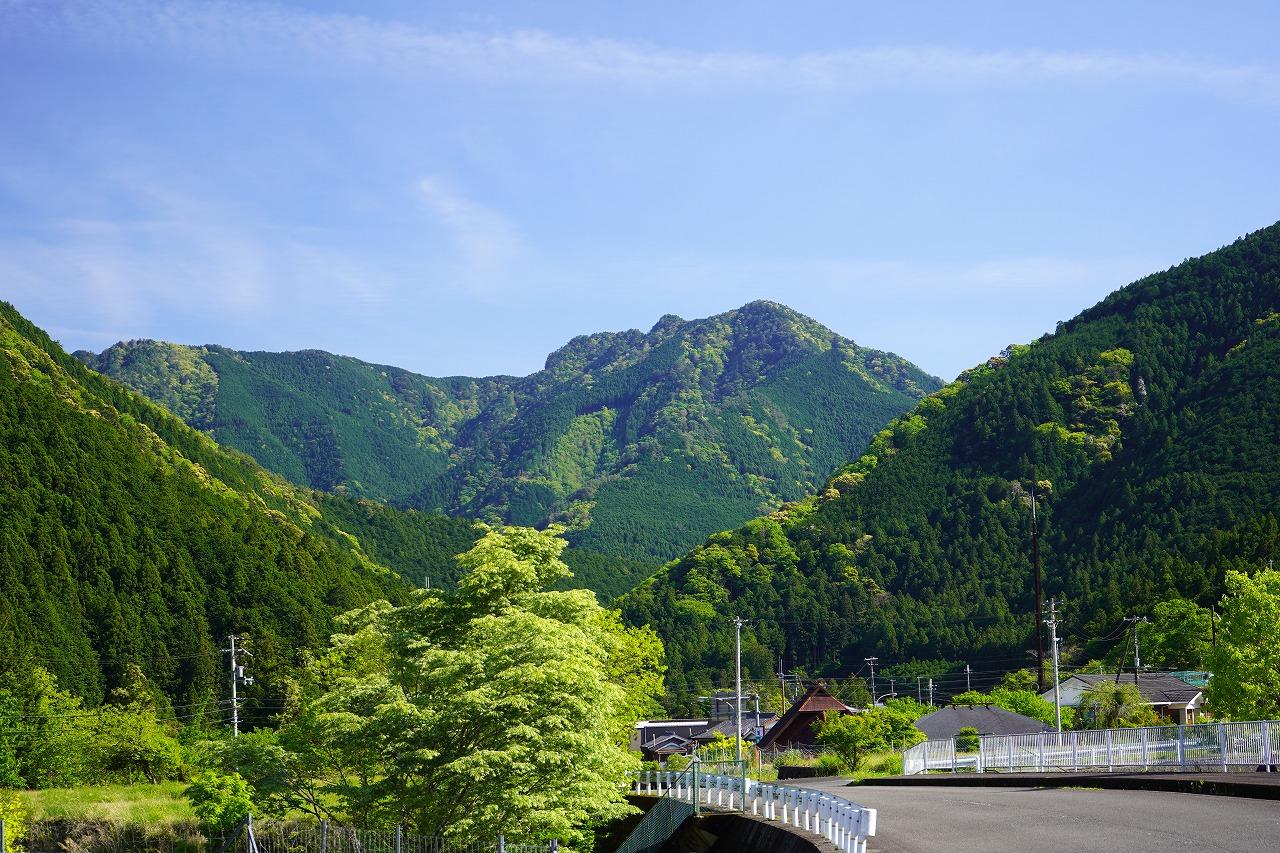 田辺、新緑と清流がおいしい大塔の旅